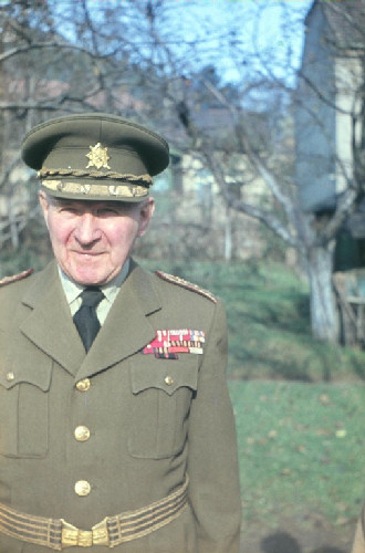 děda generál Matěj Němec